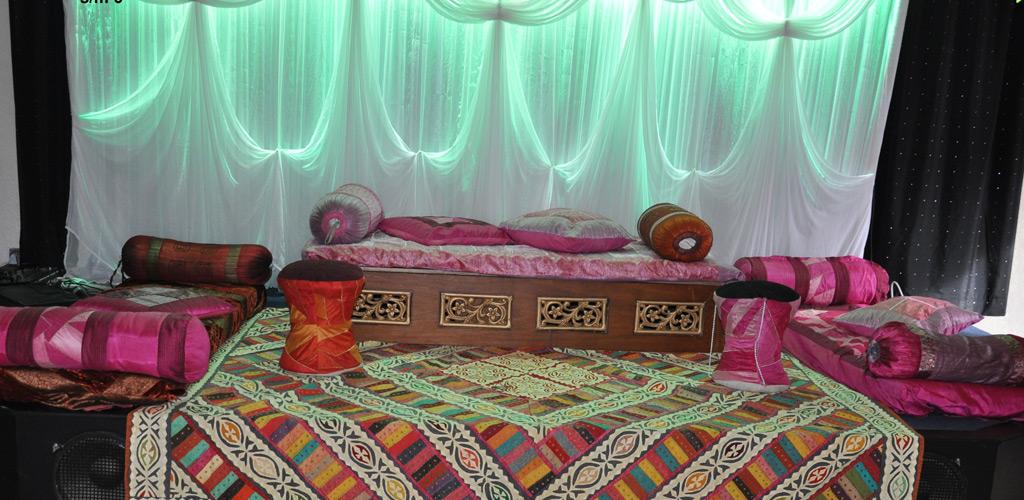 & Mehndi Set up | somel